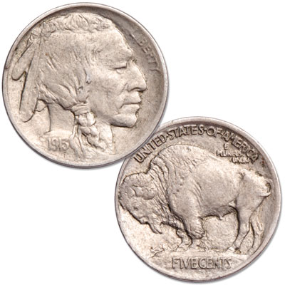 Image for 1913 Type 1 Buffalo Nickel from Littleton Coin Company