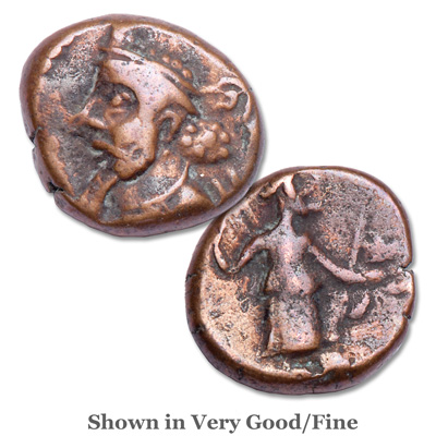 Image for 2nd-3rd Century A.D. Elymais Bronze Drachm from Littleton Coin Company