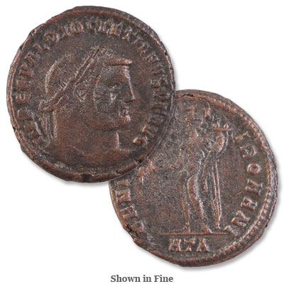 Image for A.D. 284-305 Diocletian Bronze Follis from Littleton Coin Company