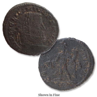 Image for A.D. 308-324 Licinius I Bronze Reduced Follis from Littleton Coin Company