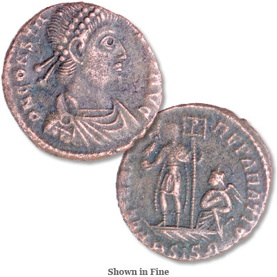 Image for A.D. 337-350 Constans Bronze Reduced Follis from Littleton Coin Company