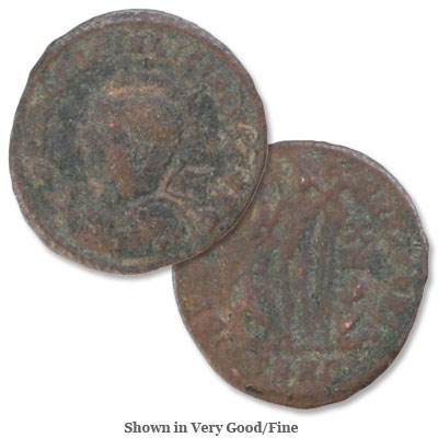 Image for A.D. 317-324 Licinius II Bronze Reduced Follis from Littleton Coin Company