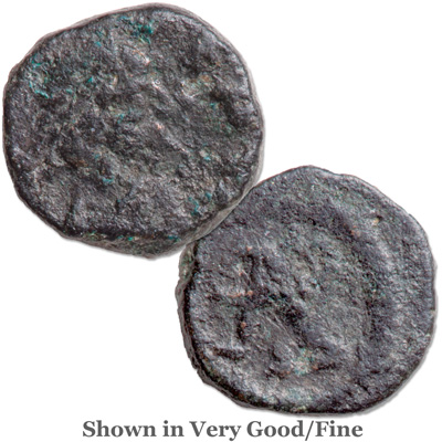 Image for A.D. 457-474 Leo I Bronze Reduced Follis from Littleton Coin Company