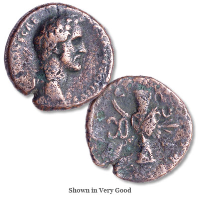 Image for A.D. 138-161 Antoninus Pius Bronze As from Littleton Coin Company