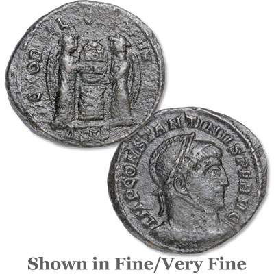 Image for A.D. 307-337 Constantine I Bronze Reduced Follis from Littleton Coin Company