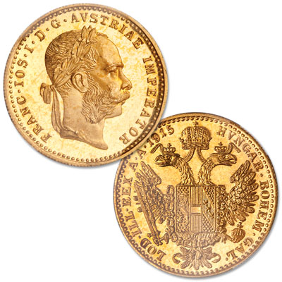 Image for 1915 Restrike Austria Gold 1 Ducat from Littleton Coin Company