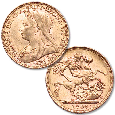 Image for 1871-1901 Great Britain Gold Sovereign in Air-Tite from Littleton Coin Company