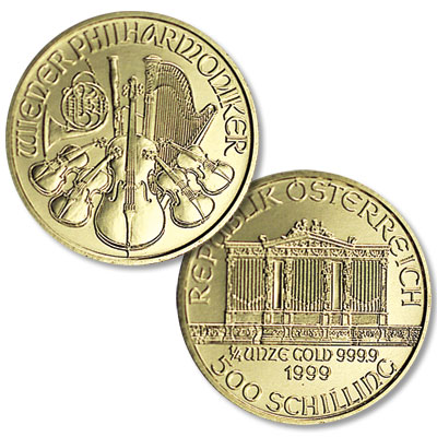 Image for 1989-2001 Austria Gold 500 Schilling Philharmonic in Air-Tite from Littleton Coin Company