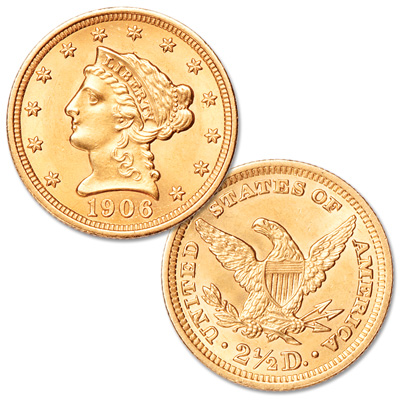 Image for 1879-1907 Gold $2.50 Liberty Head from Littleton Coin Company