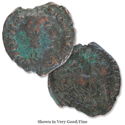 Image for A.D. 351-354 Constantius Gallus Bronze Half Centenionalis from Littleton Coin Company