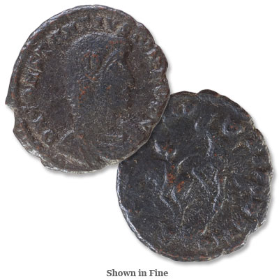 Image for A.D. 337-361 ConstantiusII Bronze Half Centenionalis from Littleton Coin Company