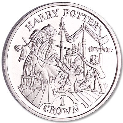 Image for 2004 Isle of Man Cupro-Nickel Harry Potter Crown from Littleton Coin Company