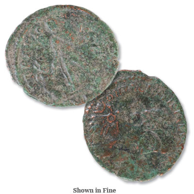Image for A.D. 375-392 Bronze Valentinian II from Littleton Coin Company