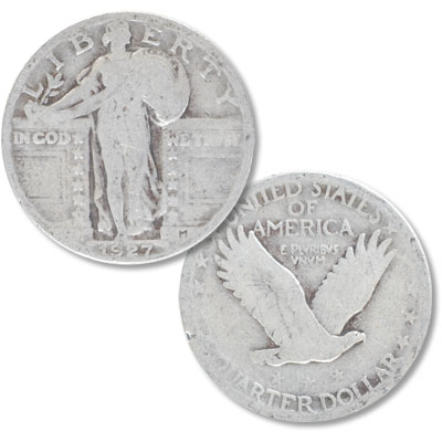 Image for 1925-1930 Standing Liberty Quarter from Littleton Coin Company