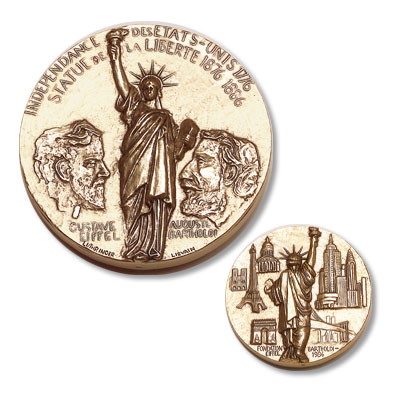 Image for Statue of Liberty Medal from Littleton Coin Company