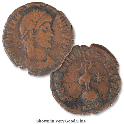 Image for A.D. 337-361 Constantius II Half Centenionalis, Phoenix Reverse from Littleton Coin Company