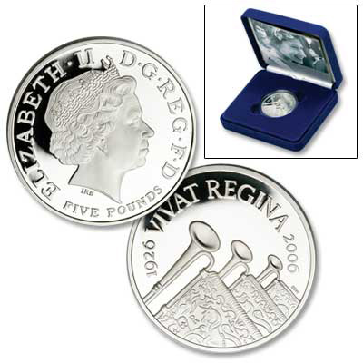 Image for 2006 Great Britain £5 Queen Elizabeth II 80th Birthday Crown from Littleton Coin Company