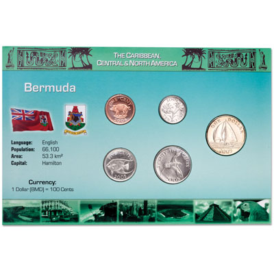 Image for Bermuda Coin Set in Custom Holder from Littleton Coin Company