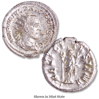 Image for A.D. 244-249 Philip I Silver Antoninianus from Littleton Coin Company