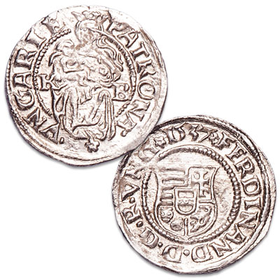 Image for 1526-1564 Ferdinand I Silver Denar from Littleton Coin Company