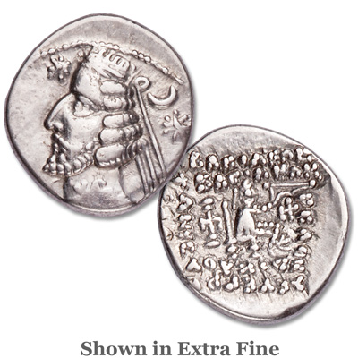 Image for 57-38 B.C. Orodes II Silver Drachm from Littleton Coin Company