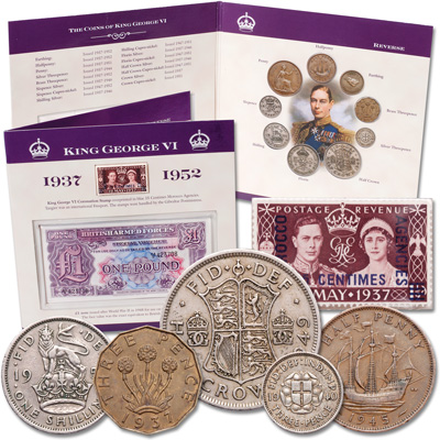 Image for Great Britain George VI Collection from Littleton Coin Company