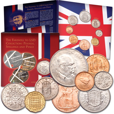 Image for Great Britain Farewell to LSD Coinage Collection from Littleton Coin Company