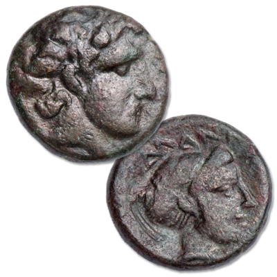 Image for 400-344 B.C. Thessaly Phalanna Bronze Coin from Littleton Coin Company