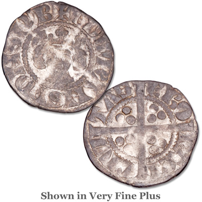 Image for 1272-1307 Edward I Silver Penny from Littleton Coin Company