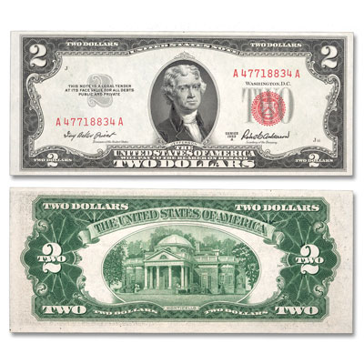 Image for 1953 $2 Legal Tender Note from Littleton Coin Company