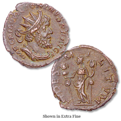 Image for A.D. 269-271 Victorinus Bronze Antoninianus from Littleton Coin Company