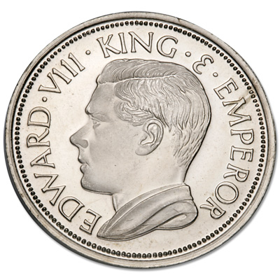 Image for 1936 Edward VIII Fantasy Crown from Littleton Coin Company