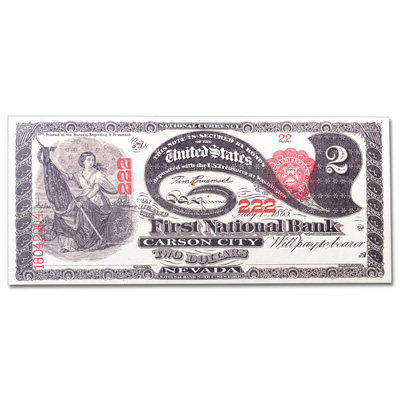 Image for $2 National Bank Note Replica from Littleton Coin Company