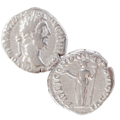 Image for A.D. 177-192 Commodus Silver Denarius from Littleton Coin Company