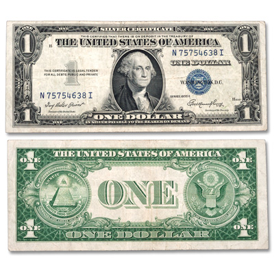 Image for 1935 $1 Silver Certificate from Littleton Coin Company