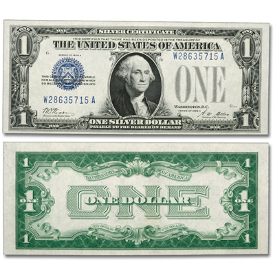 Image for 1928 $1 Silver Certificate from Littleton Coin Company