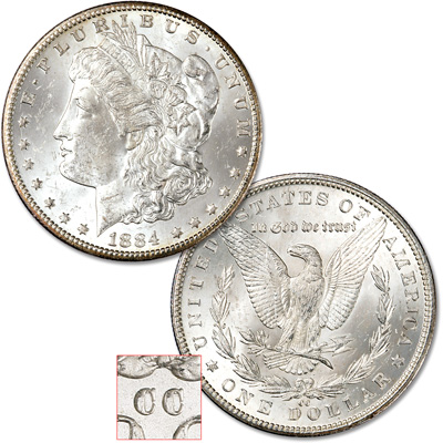 Image for 1883-1884 CC Morgan Dollar from Littleton Coin Company