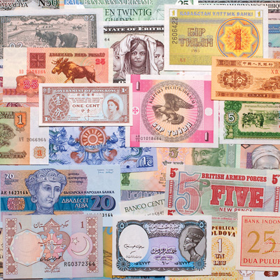 Image for 50 Bank Notes from 50 Countries from Littleton Coin Company