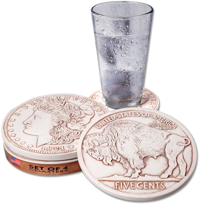Image for Coin Coasters from Littleton Coin Company