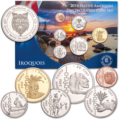 Image for 2016 Jamul Indian Coin Set - Iroquois Tribes from Littleton Coin Company