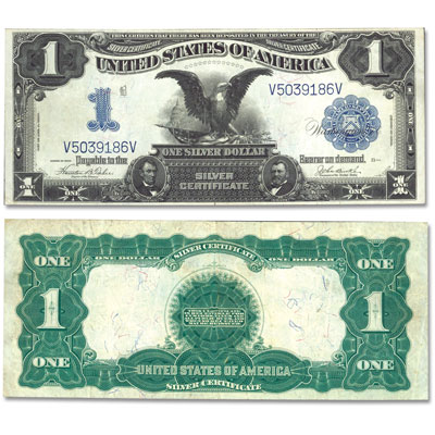 Image for 1899 $1 Silver Certificate, Black Eagle from Littleton Coin Company