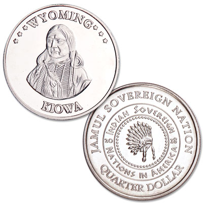 Image for 2018 Kiowa Native American Quarter from Littleton Coin Company