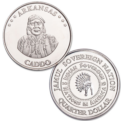 Image for 2019 Caddo Native American Quarter from Littleton Coin Company