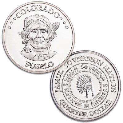 Image for 2020 Pueblo Native American Quarter from Littleton Coin Company