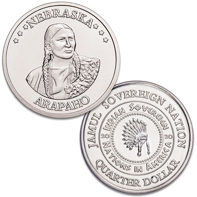 Image for 2020 Arapaho Native American Quarter from Littleton Coin Company