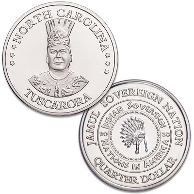 Image for 2020 Tuscarora Native American Quarter from Littleton Coin Company