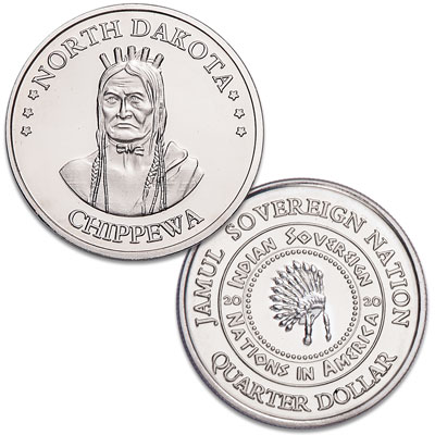 Image for 2020 Chippewa Native American Quarter from Littleton Coin Company