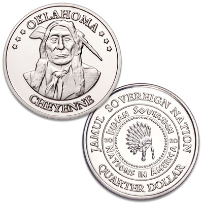 Image for 2020 Cheyenne Native American Quarter from Littleton Coin Company
