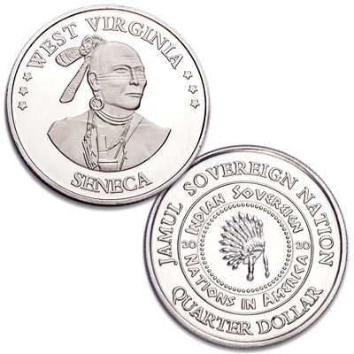 Image for 2020 Seneca Native American Quarter from Littleton Coin Company