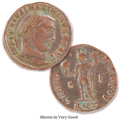 Image for A.D. 305-313 Maximinus II Bronze Follis from Littleton Coin Company
